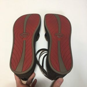 96f63d126fc7 Chaco Shoes - Chacos Dawkins Sandals Brown Leather Size 11